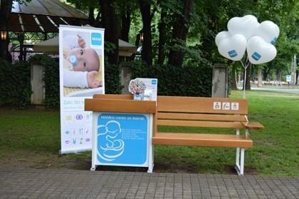 Prva klupa za dojenje u regionu na inicijativu Nade Lazić