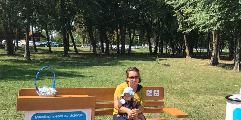 Deveta klupa za dojenje u Kragujevcu!